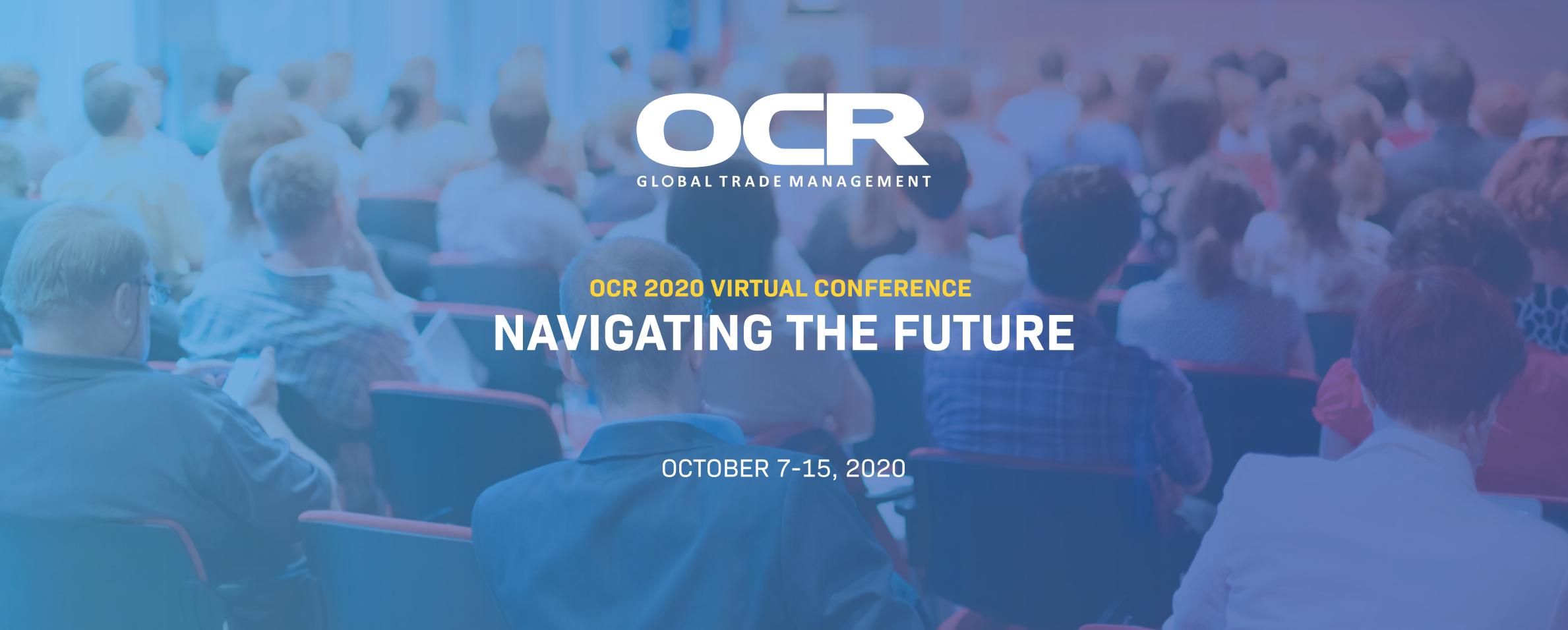 OCR Virtual Conference